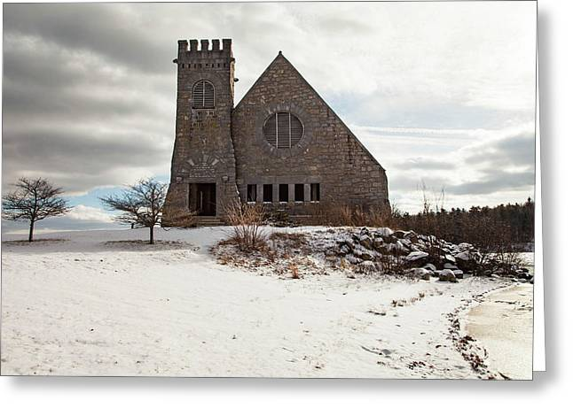 Old Stone Church Greeting Card by Sue OConnor