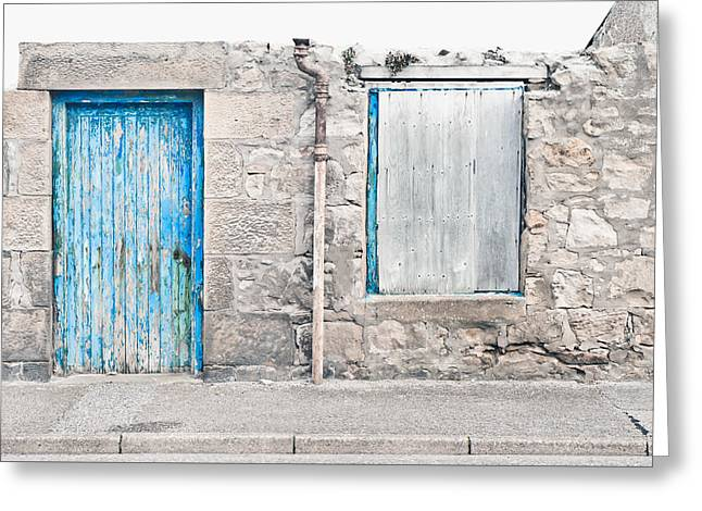 Old Stone Cottage Greeting Card
