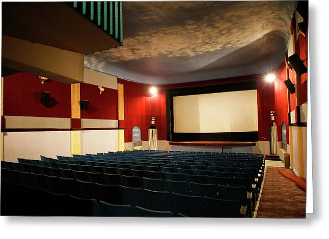 Old Theater Interior 1 Greeting Card by Marilyn Hunt