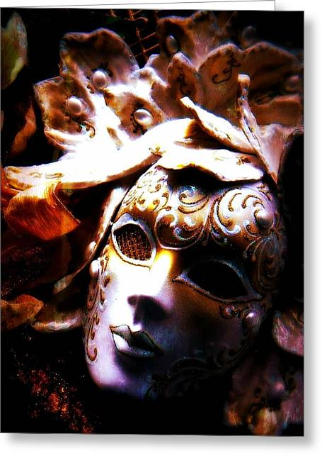 Old Time Masquerade Greeting Card