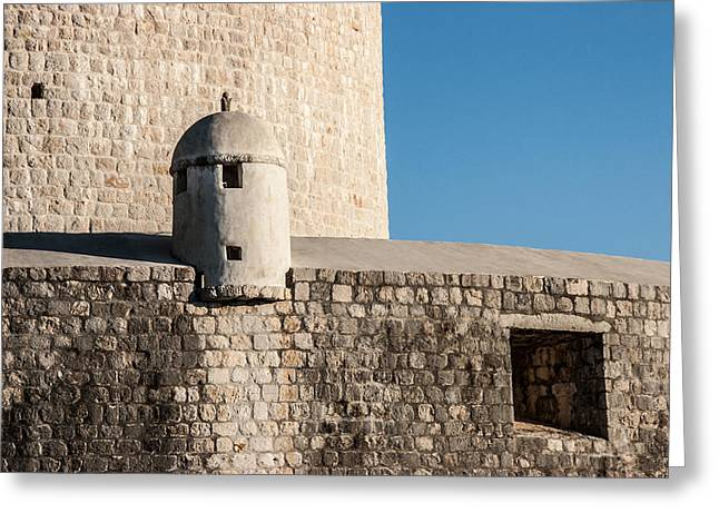 Old Town Dubrovnik Greeting Card by Silvia Bruno