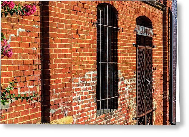 Old Town Jail Greeting Card