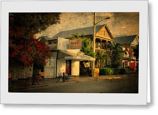 Old Town -  Key West Florida Greeting Card