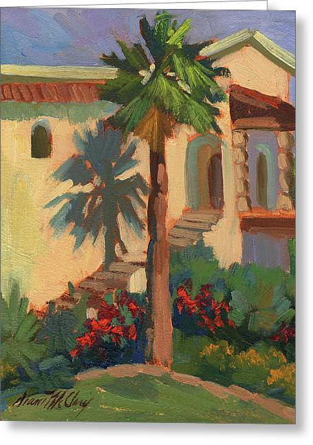 Old Town La Quinta Palm Greeting Card