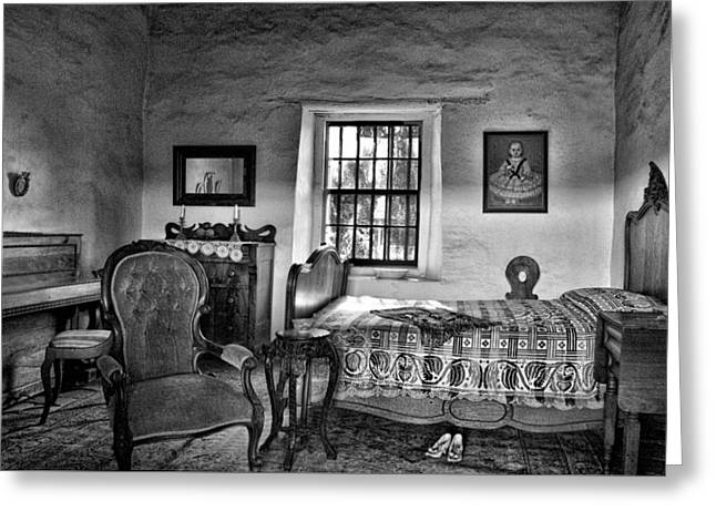 Old Town San Diego - Historic Park Bedroom Greeting Card by Mitch Spence