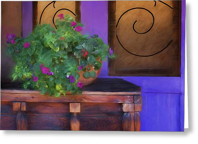 Old Town Still Life Greeting Card