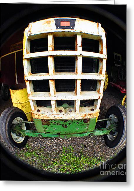 Old Tractor Greeting Card by Clayton Bruster