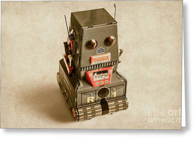 Old Weathered Ai Bot Greeting Card by Jorgo Photography - Wall Art Gallery