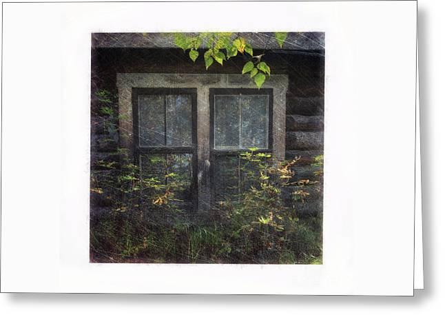 Old Window 2 Greeting Card by Priska Wettstein