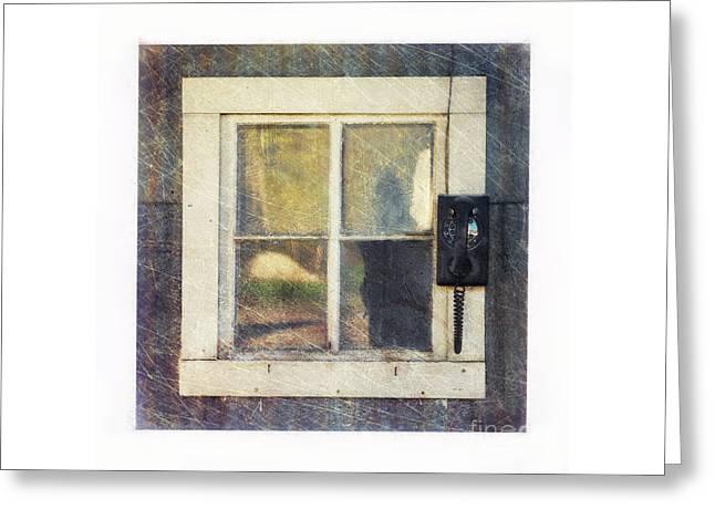 Old Window 3 Greeting Card by Priska Wettstein