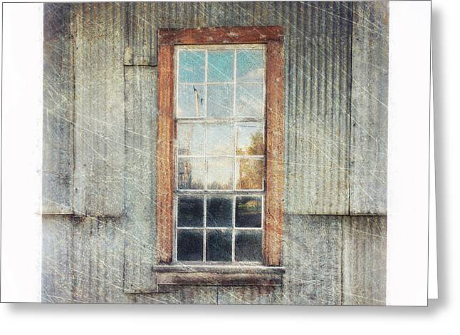 Old Window 9 Greeting Card