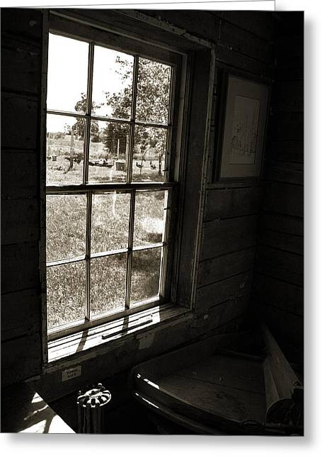 Greeting Card featuring the photograph Old Window by Joanne Coyle