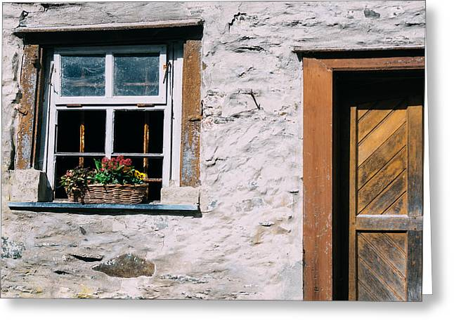 Old Window Greeting Card by Pati Photography