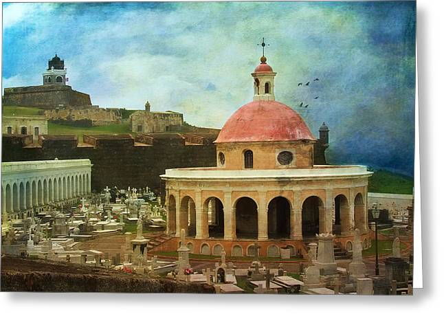 Greeting Card featuring the photograph Old World by John Rivera