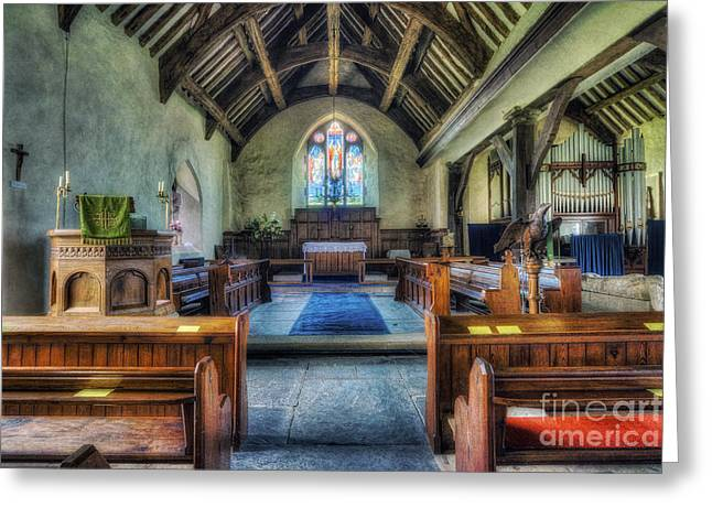 Olde Church Greeting Card