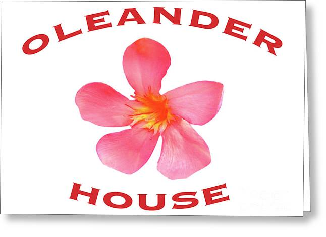 Oleander House Greeting Card