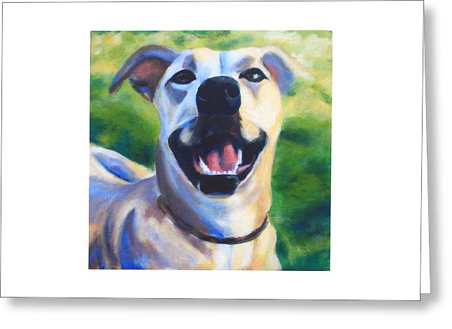 Olive Greeting Card by Sarah Vandenbusch