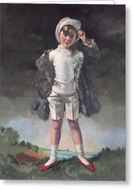 Oliver Duane Odysseus Gogarty Greeting Card by William Orpen