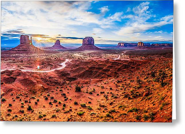 Oljato-monument Valley Greeting Card