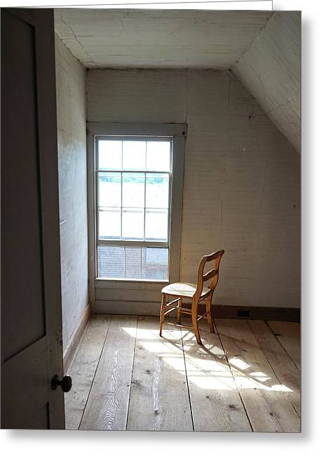 Olson House Chair And Window Greeting Card