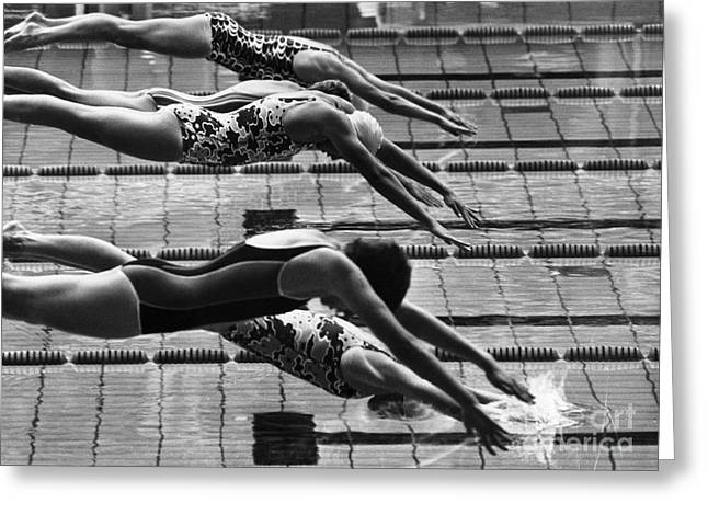 Olympic Games, 1972 Greeting Card by Granger