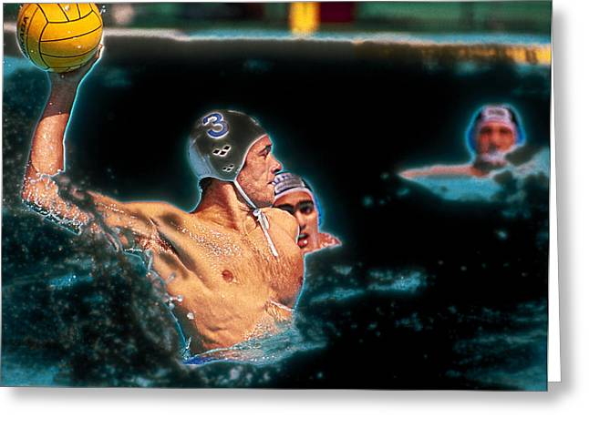 Olympic Water Polo Greeting Card