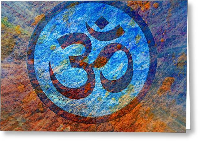 Om Greeting Card