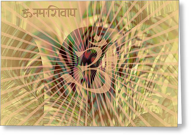 Greeting Card featuring the photograph Om Enigma by Robert G Kernodle
