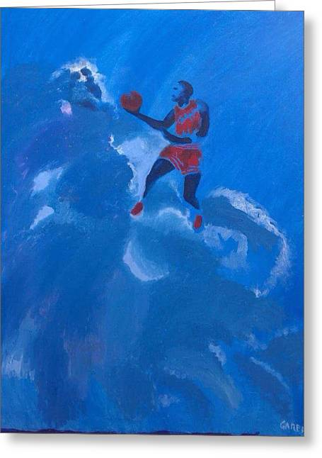 Omaggio A Michael Jordan Greeting Card
