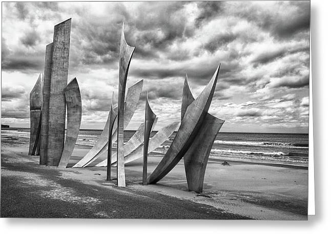 Omaha Greeting Cards - Omaha Beach Greeting Card by Jason Wolters