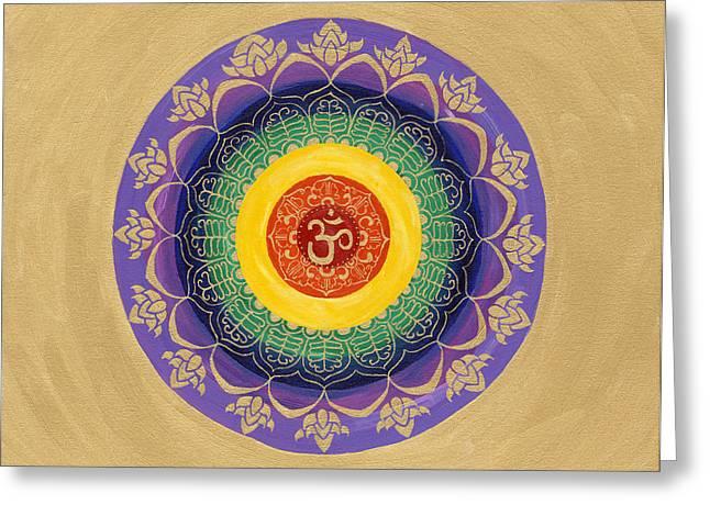Omandala Greeting Card