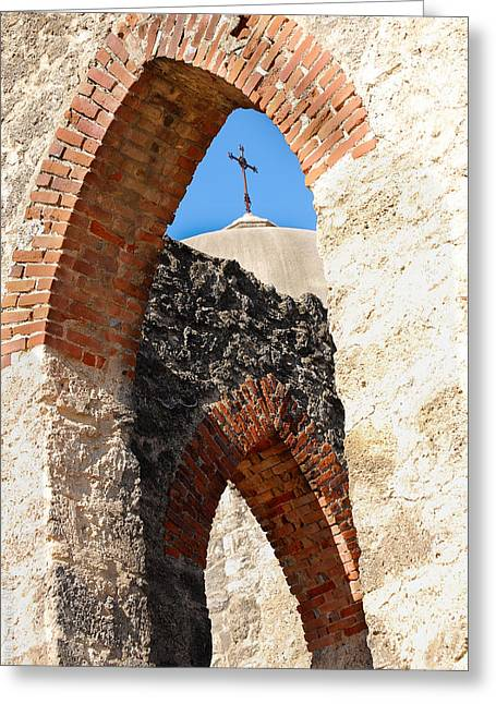 Greeting Card featuring the photograph On A Mission by Debbie Karnes