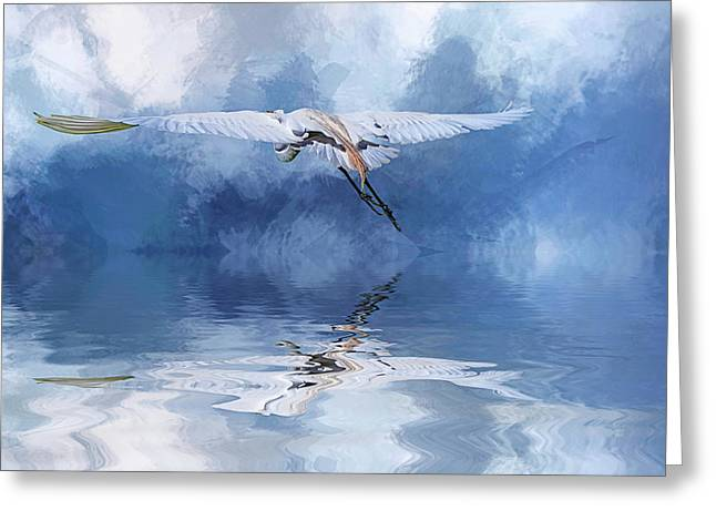 On A Wing And A Prayer Greeting Card by Cyndy Doty