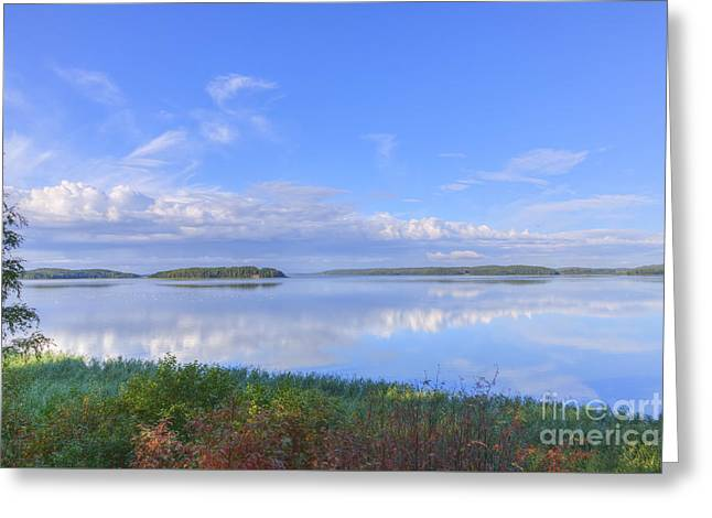 On August Morning Greeting Card by Veikko Suikkanen