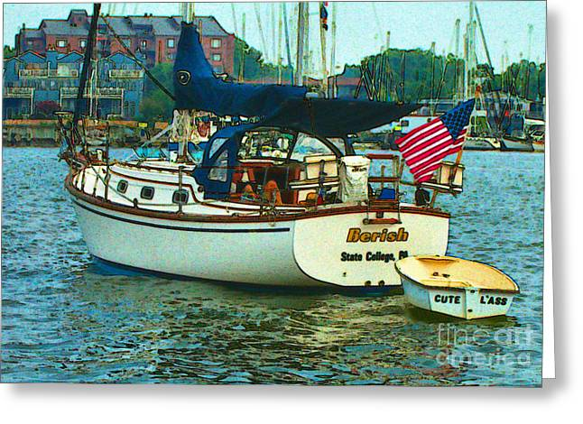 On Chesapeake Bay Greeting Card