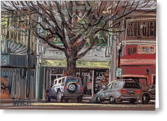 On Marietta Square Greeting Card by Donald Maier