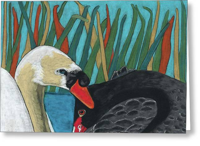 On Peaceful Pond Greeting Card