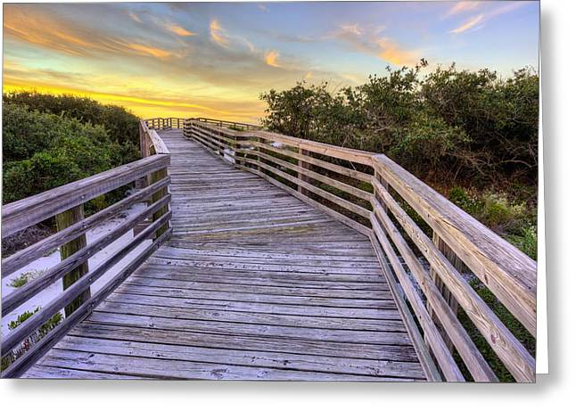On Perdido Key Greeting Card by JC Findley