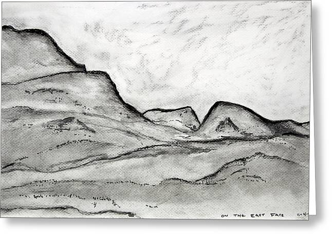 On The East Face Greeting Card