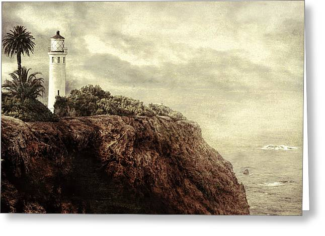 Greeting Card featuring the photograph On The Edge by Douglas MooreZart