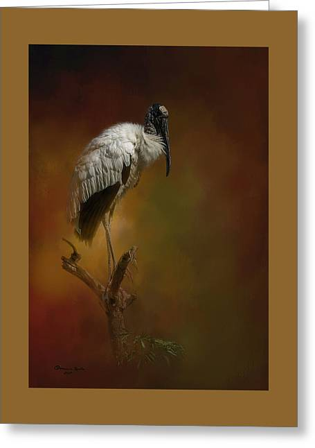 On The Fork Greeting Card by Marvin Spates