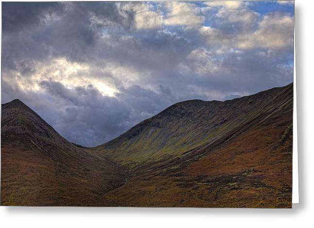On The Isle Of Skye Greeting Card by Jim Dohms