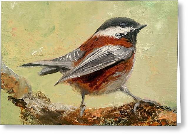 On The Lookout Greeting Card by Barbara Andolsek