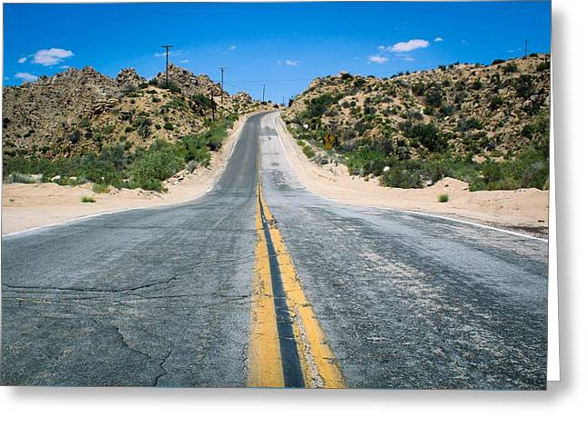 On The Road Again Greeting Card
