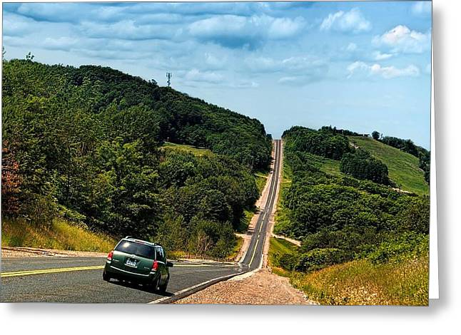 On The Road Again Greeting Card by Jeff S PhotoArt