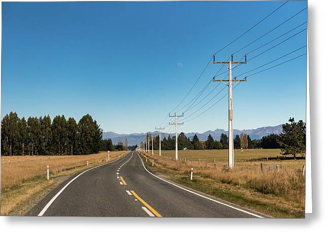 Greeting Card featuring the photograph On The Road by Gary Eason