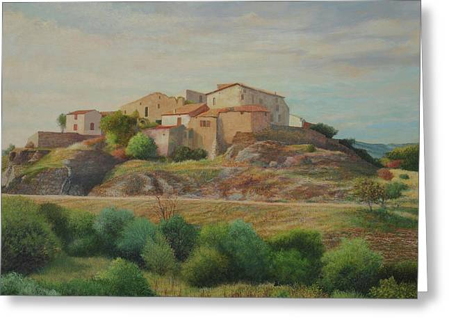 On The Road To Manosque I Greeting Card