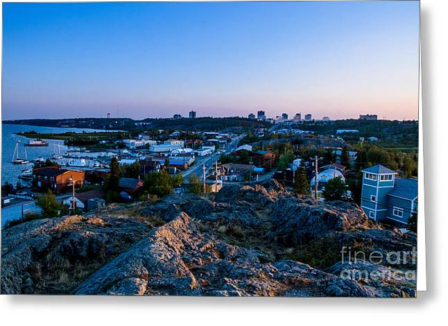 Yellowknife's Rock Greeting Card