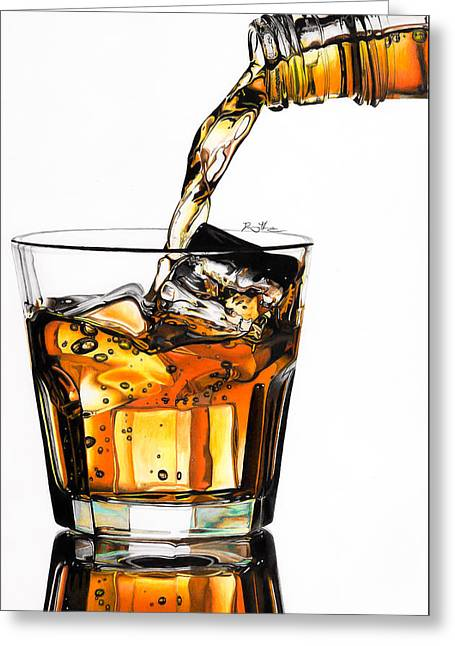 On The Rocks Greeting Card by Daniel House