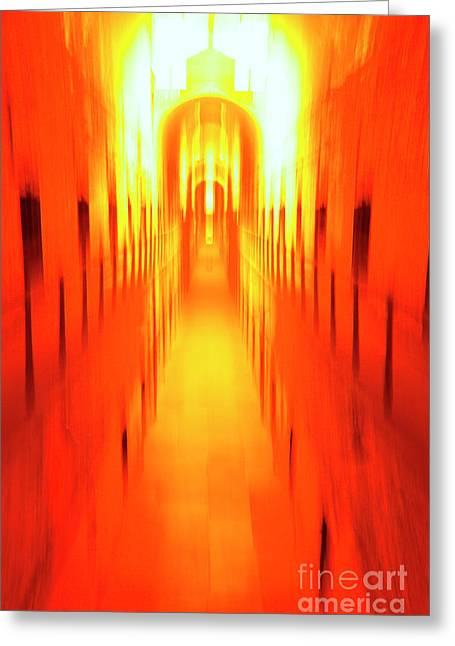 Greeting Card featuring the photograph On The Way To Death Row by Paul W Faust - Impressions of Light